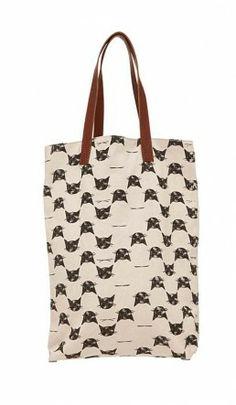 Oslo bag - Cat - Plümo Ltd. 40cmx44cmx12cm. handle drop 23 cm. $76