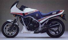 Honda VF1000F, where the sport bike began....