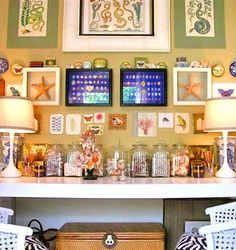 Alkemie: Wall Collages and Wall Art ~ Decorating Walls