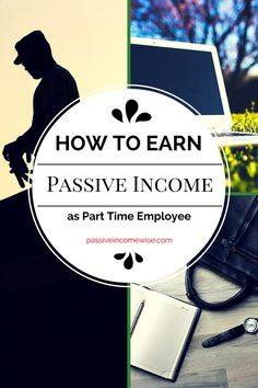 Most of people generating money from passive income sources at the beginning started as part time. But life is busy, work is tiring and when we go back home, who wants to continue working? Then, if you have kids, friends and events, even if you want to find time to start in the Passive Income business it is hard, right? Well, that was what I though, but time later I realised it's possible. (Source: http://passiveincomewise.com/is-it-possible-to-generate-passive-income-as-a-part-time/)