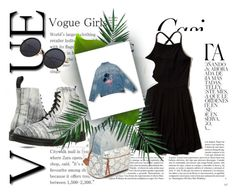"""""""cool"""" by rosaliedm on Polyvore featuring mode, Whiteley, Hollister Co., Red Camel, Dr. Martens, Pull&Bear en Nika"""