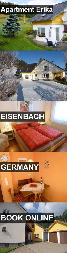 Apartment Erika in Eisenbach, Germany. For more information, photos, reviews and best prices please follow the link. #Germany #Eisenbach #travel #vacation #apartment