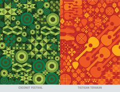A patterned illustrations of Philippine Festivals. Philippines, Kids Rugs, Festivals, Decor, Icons, Illustrations, Patterns, Fiestas, Block Prints