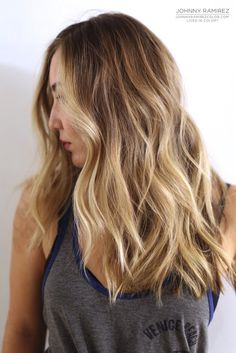 My hair color creation Hair Color by Johnny Ramirez • IG: @johnnyramirez1 • Appointment inquiries please call Ramirez|Tran Salon in Beverly Hills at 310.724.8167. #hair #besthair #beachhair #johnnyramirez #highlights #model #ramireztransalon #bestsalon #beauty #lahair #highlights #salon #beautifulhair #ramireztran #ramireztransalon #johnnyramirez #sexyhair #livedinhair #livedincolor #blonde #livedinblonde #blonde #hair #carmel #bronde