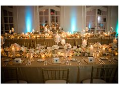 boda en otoño e invierno color dorado  / Decoración boda
