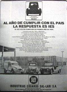 Industrias Eduardo Sal-Lari S.A. 1980's