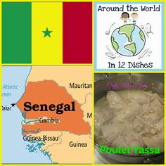 Crafty Moms Share: Around the World in 12 Dishes: Senegal -- Poulet Yassa