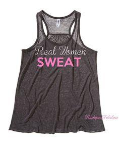 Workout Clothing Womens Tank Top Workout Tank by FlashyandFabulous, $22.00