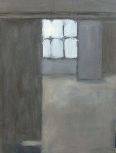 Sometimes a calming grey is just right. REAL ART: Grey interior (2)