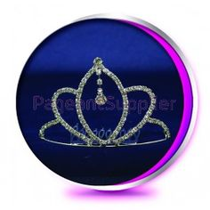 The Maya Pageant Crown or Wedding Tiara (Homecoming, Prom, Bridesmaid, Birthdays, Bachlorette, etc)