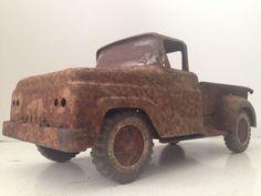 Vintage Tonka Toys Pickup Truck Old Pressed Steel Barn Find Parts or Restore #Tonka