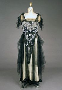 Beaded Evening Gown, 1918