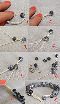 How to make DIY seed bead brac
