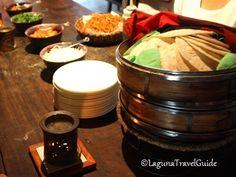 Make your own tortilla at Bale Dutung Restaurant