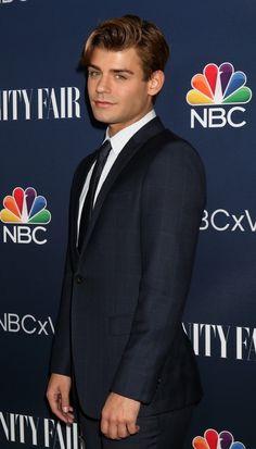 Garrett Clayton at NBC & Vanity Fair's Fall Season Toast Celebration