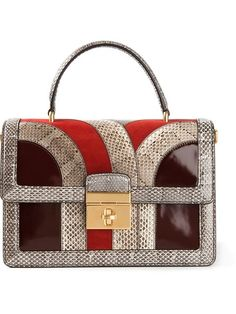 d6a201be5ff1 Shop Dolce  amp  Gabbana  Rosalia  mix amp match shoulder bag in from the