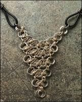 Image result for amazing chainmaille necklaces