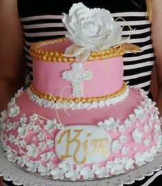 Konfirmation Torte Fondant Fondant, Children, Cake, Pies, Young Children, Boys, Kids, Kuchen, Gum Paste