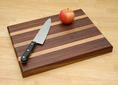 Walnut and Oak Cutting Board