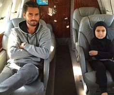 Scott Disick is jet-setting towards a healthy recovery following a 28-day stint in rehab and the first port of call since leaving the Cliffside Malibu Centre was to see his son Mason.