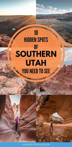 Southern Utah's Best Secret Places Goblin Valley, Escalante National Monument, Capitol Reef National Park, Slot Canyon, Utah Hikes, Camping Spots, Secret Places, Hiking Trails, State Parks