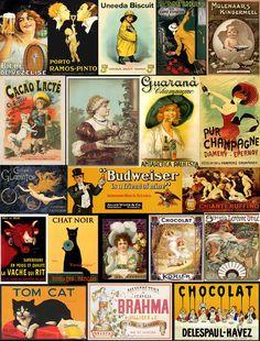 propagantas antigas, as melhores !! Decoupage, Vintage Labels, Vintage Ads, Banners, Good Advertisements, Diy Dollhouse, Antarctica, Model Trains, Arduino