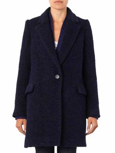 Isabel Marant Étoile Daphne wool-blend coat
