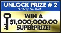 WIN OVER $2,OOO.OOO.OOI cynthia dehler wants to claim ownership and full eligibilty for pch gwy no. 8035 $2,000,000.00 Super prize  thank you Publishers Clearing House.