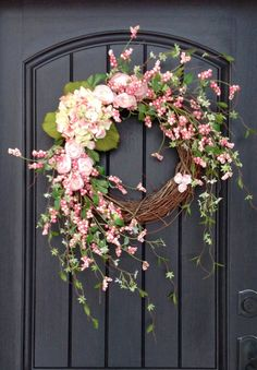 Spring Wreath Easter Wreath Summer Wreath by AnExtraordinaryGift