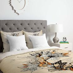 DENY Designs Iveta Abolina Floral 1 Duvet Set