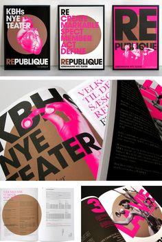 Republique Theatre by Scandinavian DesignLab , via Behance