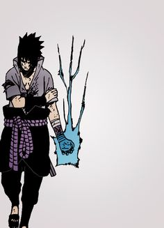Uchiha Sasuke and his Chidori