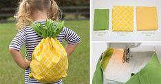 Malí škôlkári, a počas leta malí výletníci, so sebou potrebujú neustále nosiť svoje drobné poklady. Kreatívny nápad na letný ananásový batoh pre…