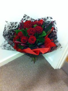 Valentine's Themed Roses