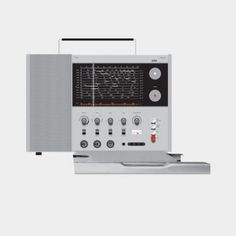 T 1000 world receiver, 1963, by Dieter Rams for Braun