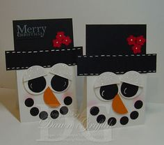 Frosty the Snowman Card by Dawns Stamping Thoughts
