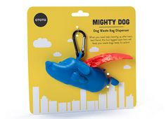 "Un peu de nudge par le ""friendliness"" d'un design : OTOTO mighty dog waste bag dispenser ( Manque plus que la version drone pour faire le ramassage )"