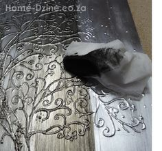 Home-Dzine - Christmas art using aluminium tape