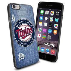 Minnesota Twins MLB Jeans Logo WADE6112 Baseball iPhone 6 4.7 inch Case Protection Black Rubber Cover Protector WADE CASE http://www.amazon.com/dp/B013YZJ9Y0/ref=cm_sw_r_pi_dp_RWVBwb1KP10K1