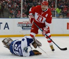 Detroit Red Wings-Toronto Maple Leafs Winter Classic ...
