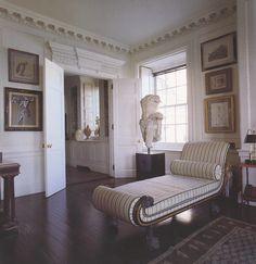 What job she did on longtime friend Bill Blass' apartment! #onekingslane