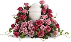 Symbolic meaning of traditional funeral flowers