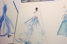Three's a trend. #refinery29 http://www.refinery29.com/2014/05/67482/met-gala-sketches#slide-16