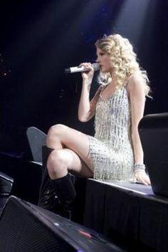 Taylor Swift fringe dress.