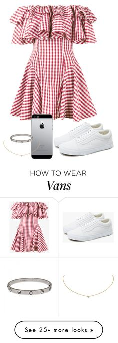 """Sem título #1026"" by army-forever on Polyvore featuring House of Holland, Vans and Cartier"