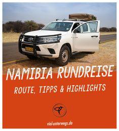 Hast du Lust auf ein Abenteuer in Namibia und Botswana? Lies meinen Reisebericht zur Namibia Rundreise mit Auto und Dachzelt. Mit Route bis Botswana, dem schönsten Land im südlichen Afrika. Camping kann nicht schöner sein, wenn plötzlich ein Elefant am Dachzelt vorbei zieht! #Namibia #Botswana #Rundreise #Roadtrip #Tipps Namibia, Safari, Roadtrip, Van Life, Wanderlust, Abs, Hotels, Outdoor, Campsite