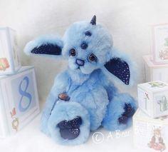Twilight blue By A bear by kim - Bear Pile