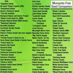1000 Images About No Monsanto No Gmo On Pinterest Seeds Varieties Of Tomatoes And Food