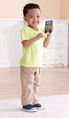Amazon.com: VTech Kids Smart Phone Call and Chat Learning Music Toys for Kids: Toys & Games  https://www.amazon.com/gp/product/B01LZ6UV6O/ref=as_li_qf_sp_asin_il_tl?ie=UTF8&tag=rockaclothsto_toys-20&camp=1789&creative=9325&linkCode=as2&creativeASIN=B01LZ6UV6O&linkId=937489a21e9088402908f4606ea27a98