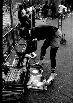 Hip-Hop in the park. #oldschool